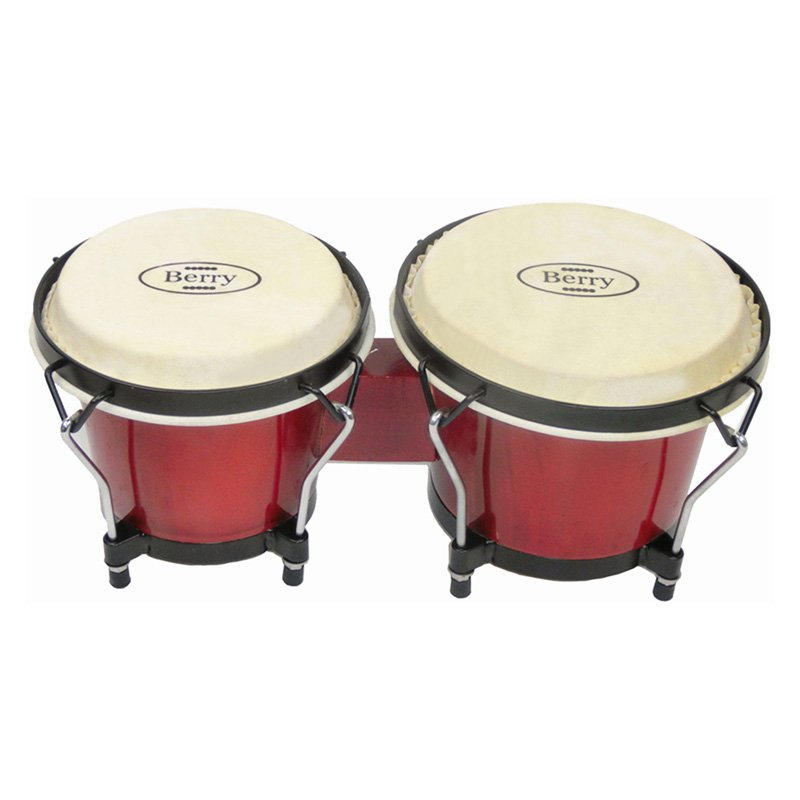 Berry Toys Red Bongo Drums by Merske LLC