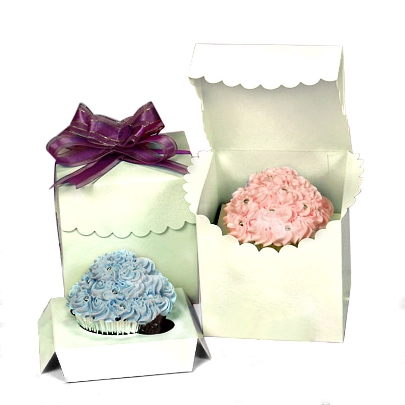 """Scalloped Favor Boxes  