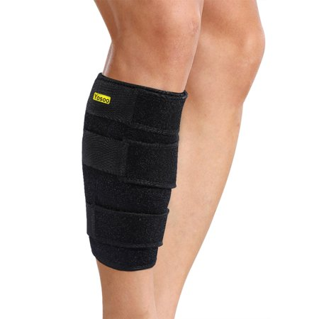 VGEBY Calf Brace Adjustable Shin Splint Support Sleeve Leg Compression Wrap for Pulled Calf Muscle Pain Strain Injury,Swelling,Fits Men and