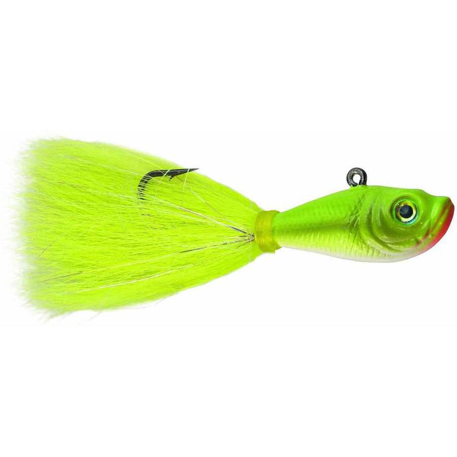 SPRO Fishing Bucktail Jig, Crazy Chart, 1 Pack by Generic