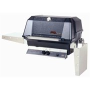 40000 BTU LP Gas Grill Head w Stainless Cooking Grids