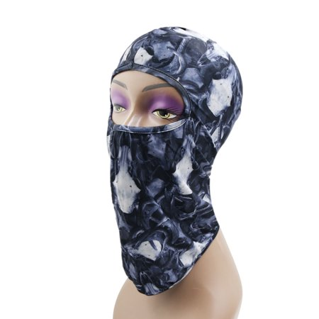 Outdoor Sports Cycling Balaclava Full Face Mask Neck Cover Protective Hood #3 - Open Face Balaclava