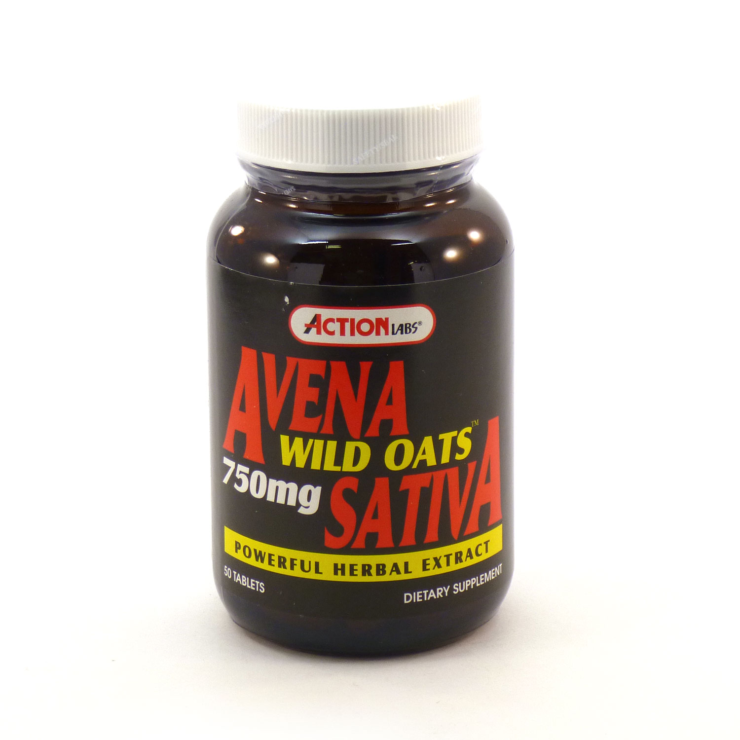 Image of Avena Sativa Wild Oats 750 mg By Action Labs - 50 Tablets