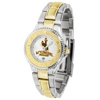 Suntime ST-CO3-WYC-COMPLMG Wyoming Cowboys-Competitor Ladies Two-Tone Watch