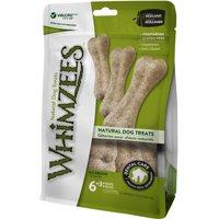WHIMZEES Natural Grain Free Dental Dog Treats, Large Rice Bone, Bag of 9