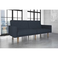 DHP Modern Retro Paxson Sofa Bed, Gray