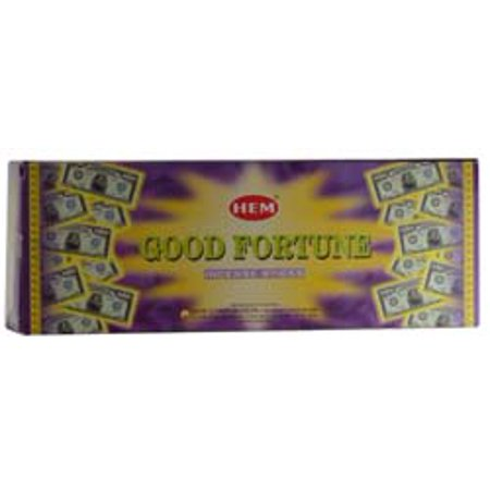 Success Incense (HEM Incense Good Fortune 20pk Sticks Bring Good Luck and Success in Abundance Along with a Create Relaxing Atmosphere Into Your Home Prayer Meditation)