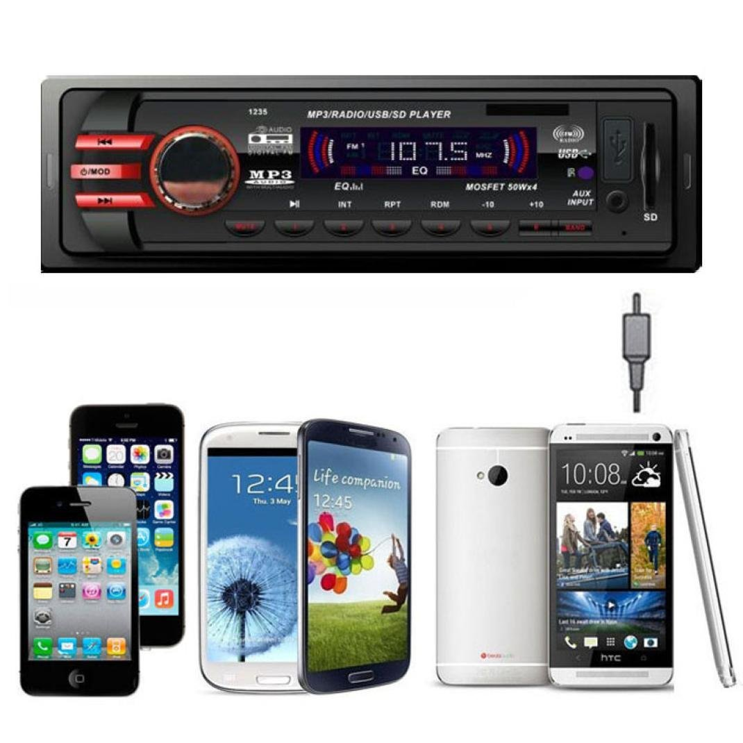 GBSELL Car Audio Stereo In Dash FM With Mp3 Player USB SD...