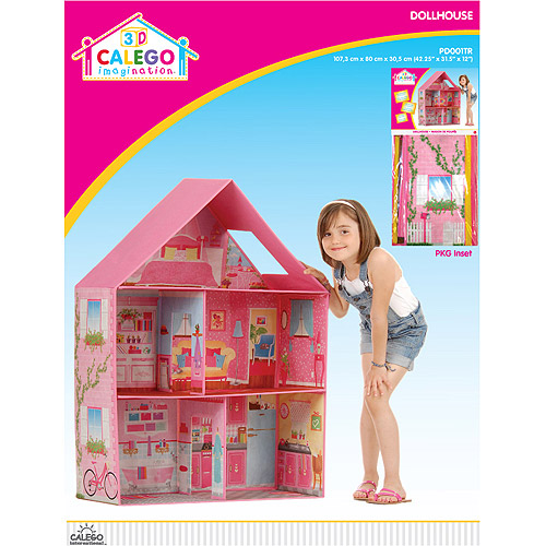 CALEGO 3D Imagination Dollhouse, Traditional