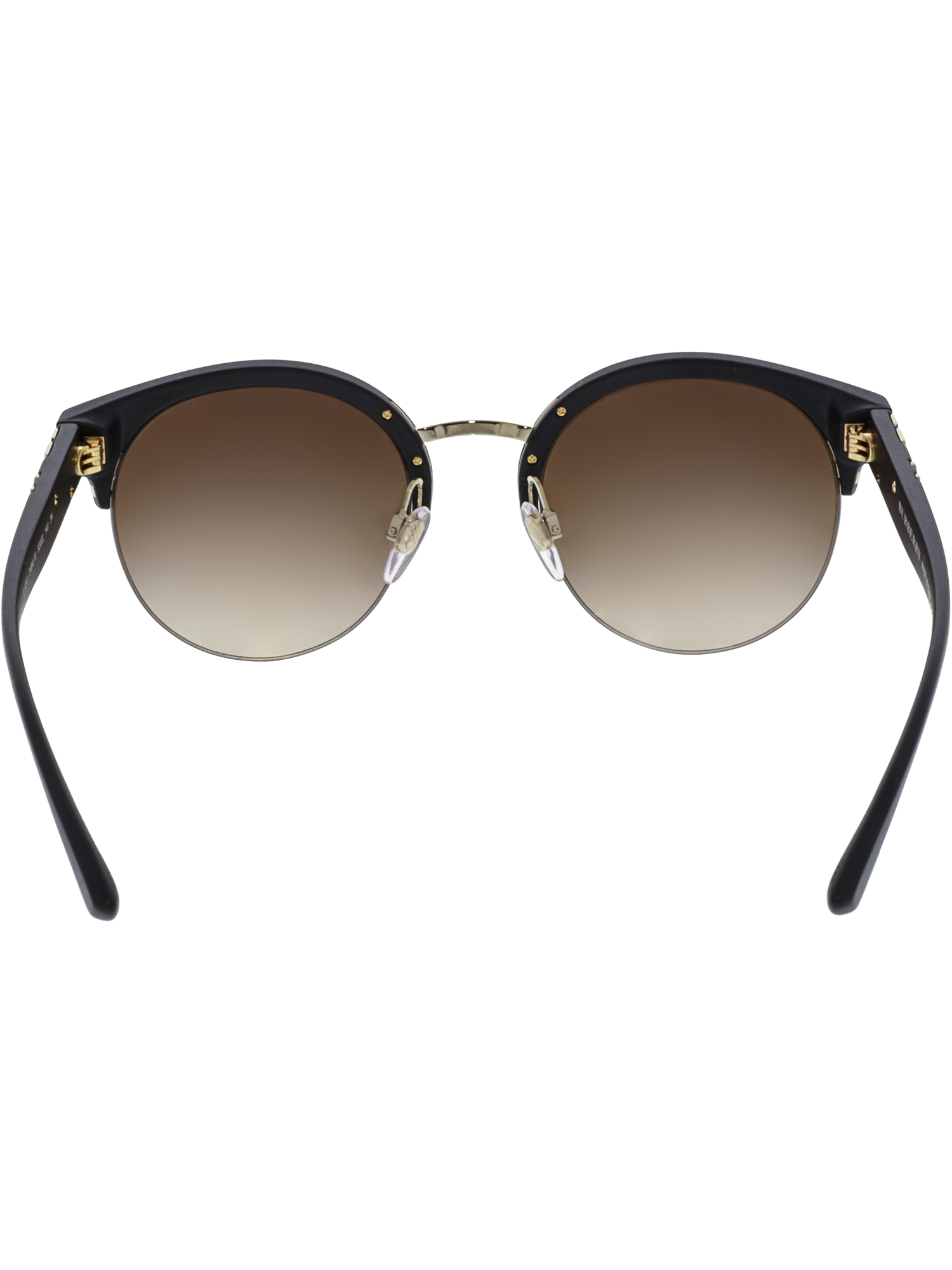 55abead06f2 Burberry - Burberry Women s Gradient BE4241-346413-52 Black Semi-Rimless  Sunglasses - Walmart.com