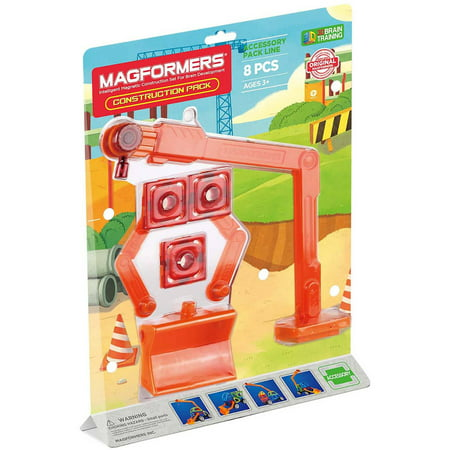 Magformers Construction Accessory Pack - 8pc