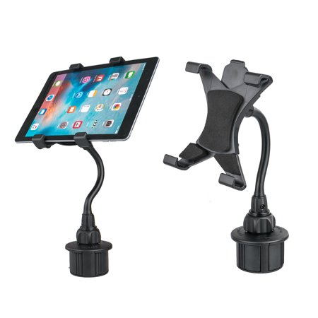 TSV Adjustable Car Cup Holder Mount for Apple iPad Mini Cell Phone 7