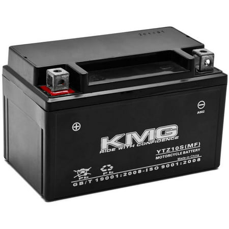 KMG Honda 600 VT600C CD Shadow Deluxe 2004-2007 YTZ10S Sealed Maintenace Free Battery High Performance 12V SMF OEM Replacement Maintenance Free Powersport Motorcycle ATV Scooter Snowmobile (Smf Disk)