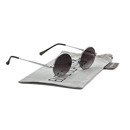 dc1d409efe Elite Glasses - John Lennon Hipster Fashion Sunglasses Small Metal Round  Circle Elton Style - Walmart.com