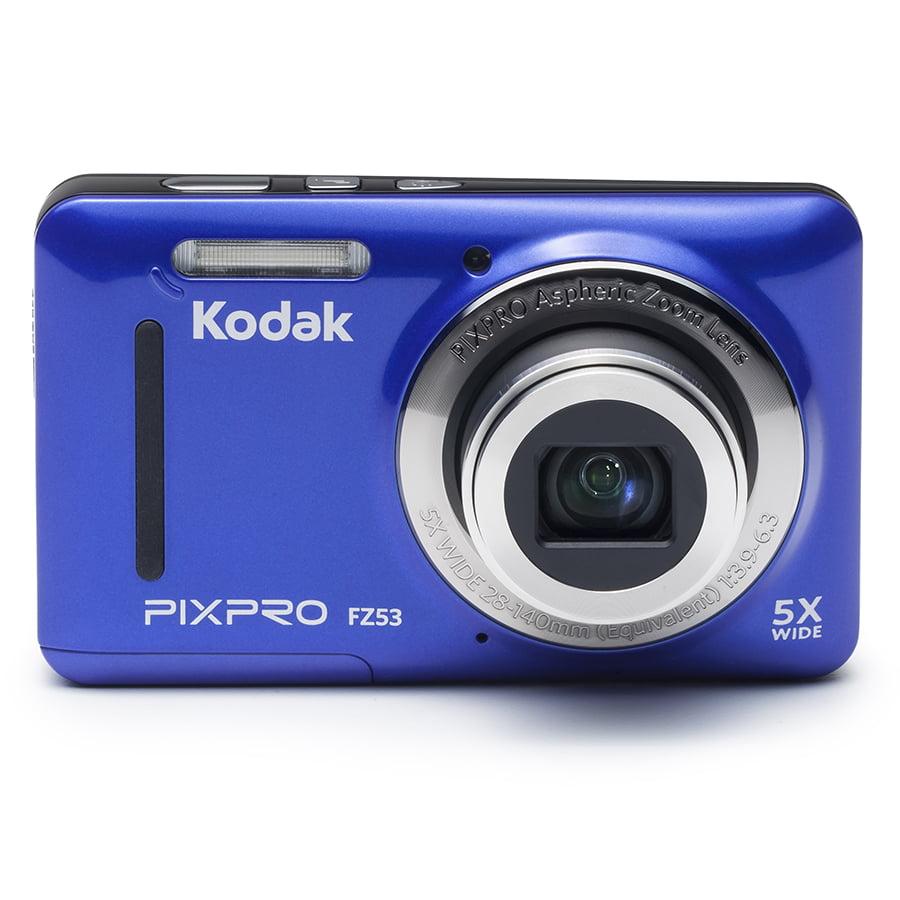 kodak pixpro fz53 compact digital camera 16mp 5x optical zoom hd