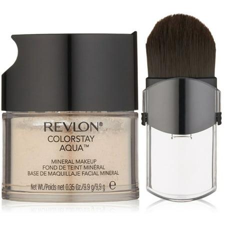 Revlon Colorstay Mineral Makeup - 2 Pack - Revlon Colorstay Aqua Mineral Makeup, Light Medium/Medium 0.35 oz