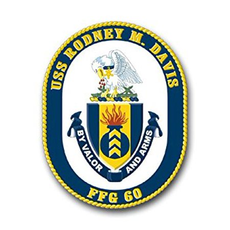 Magnet Us Navy Ship Uss Rodney M  Davis Ffg 60 Decal Magnetic Sticker 3 8