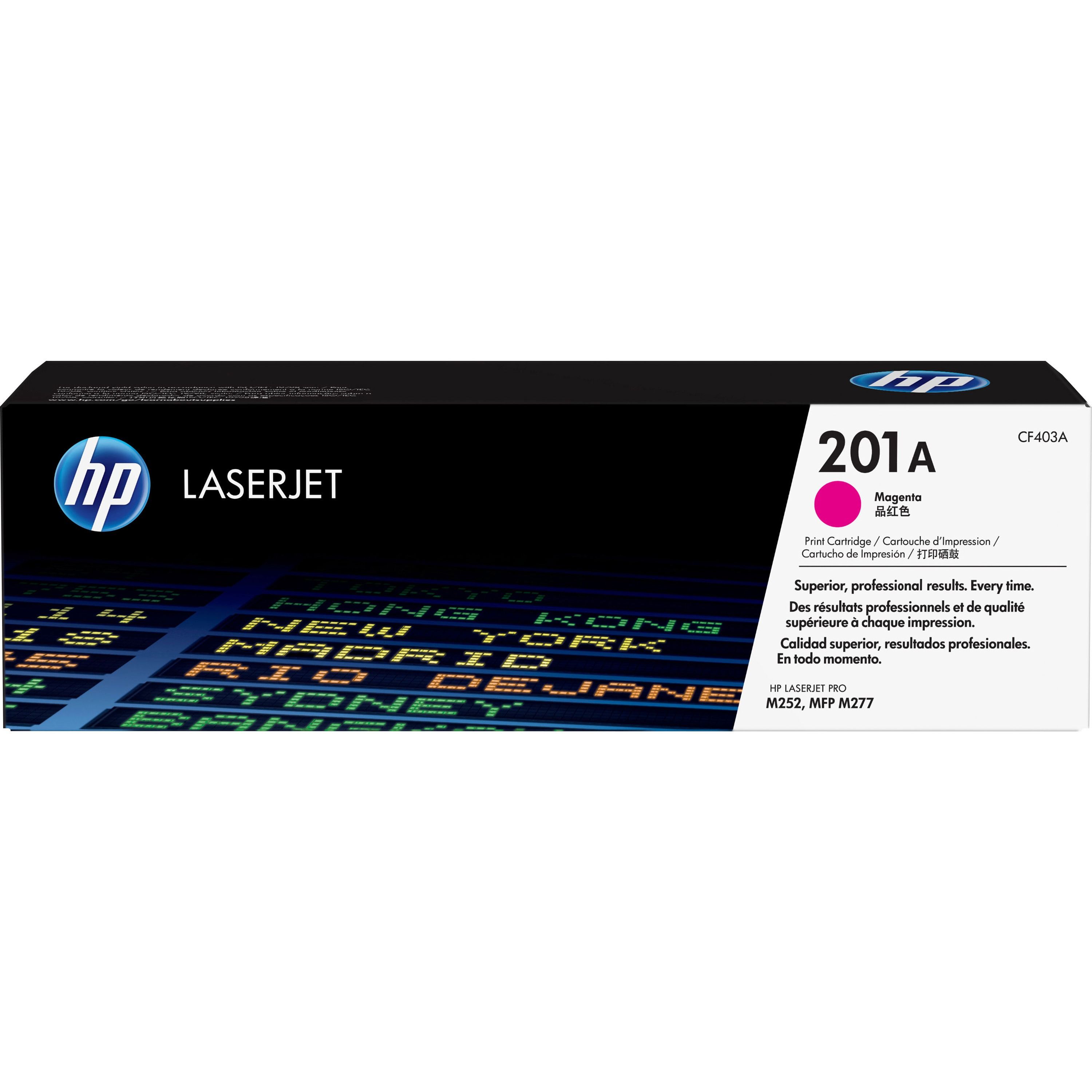 HP 201A (CF403A) Magenta Original LJ Toner Cartridge