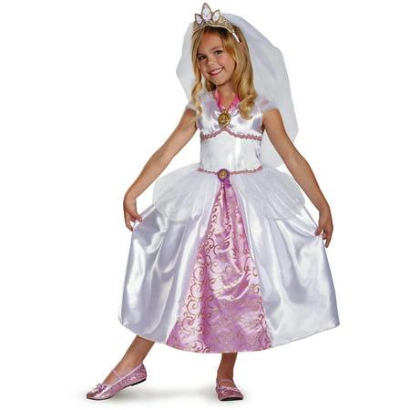 Rapunzel Wedding Gown Child Halloween Costume - Walmart.com