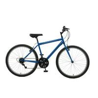 Rigid Mountain Bike, 26 in wheels, 18 in frame, Men's Bike, Blue