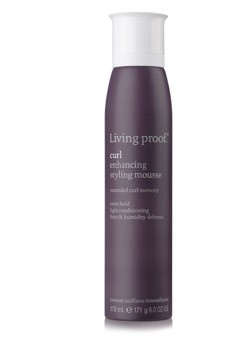 Living Proof Curl Enhancing Styling Mousse, 6 Oz