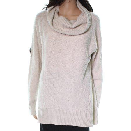 Lafayette Virgin Wool Women Large Cowl Neck Sweater L ()