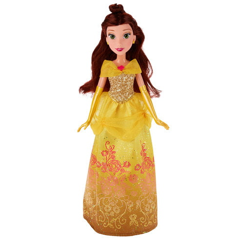 Disney Princess Royal Shimmer Belle Doll by Hasbro