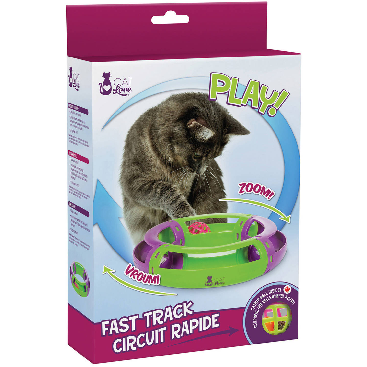Cat Love Fast Track Cat Toy by Cat Love