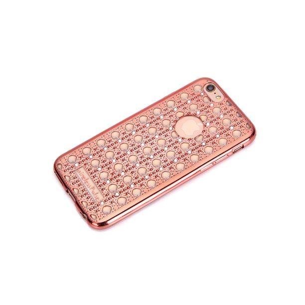 Rose Gold New Fashion Designer Iphone Se Case Luxury Crystal Diamond Vintage Transparent Shockproof Soft Slim Tpu Bling Iphone 5 Case Cover Rhinestone Iphone 5s Case With 3d Effect Walmart Com