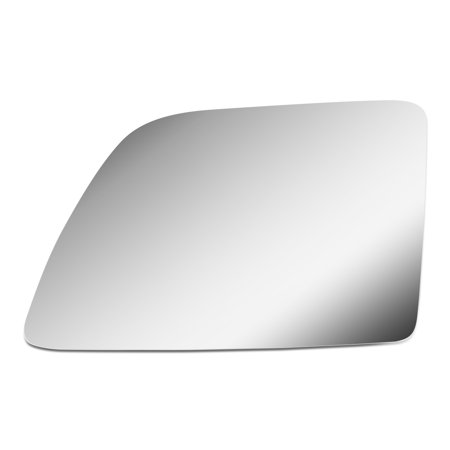 For 2003 to 2007 Ford E150 / E450 Super Duty / 1992 to 2007 E350 Econoline Left Side Door Rear View Mirror Glass Replacement Lens 93 94 95 96 97 (Ford E450 Super Duty Mirror)