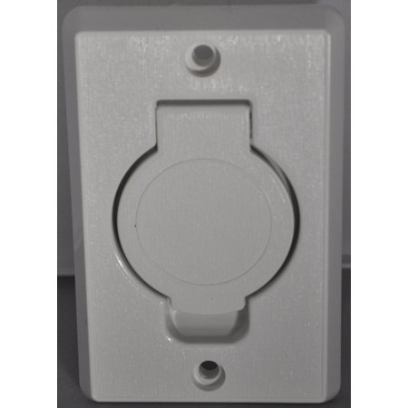 Central Vacuum Wall Plate Best Built In Central Vacuum Cleaner White Auto Inlet Round Door