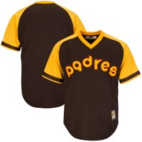 San Diego Padres Majestic Big & Tall Cooperstown Cool Base Jersey - Brown