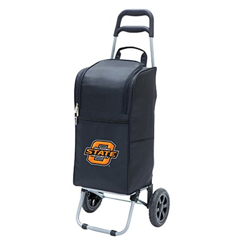 Oklahoma State Cowboys - Cart Cooler by Picnic Time (Black) - image 1 de 1