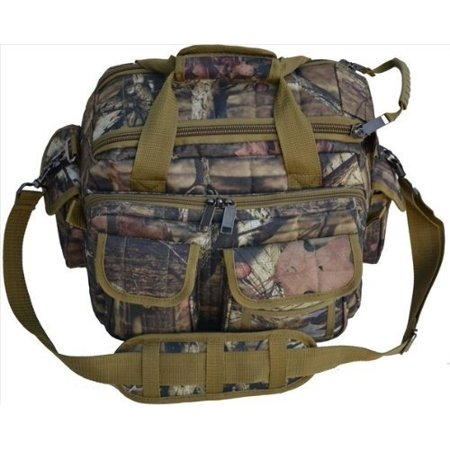 Explorer Mossy Oak -Realtree Like- Hunting Camo Padded Deluxe Tactical Range and Gear Bag - Rangemaster Gear Bag