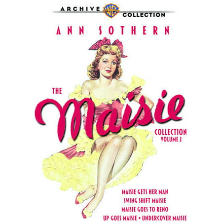 MOD-MAISIE COLLECTION VOL 2 (5 DVD/1942-47/REMASTERED) NON-RETURNABLE (Paul Frank Collection)
