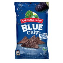 Tortilla & Corn Chips: Garden of Eatin' Blue Chips No Salt Added