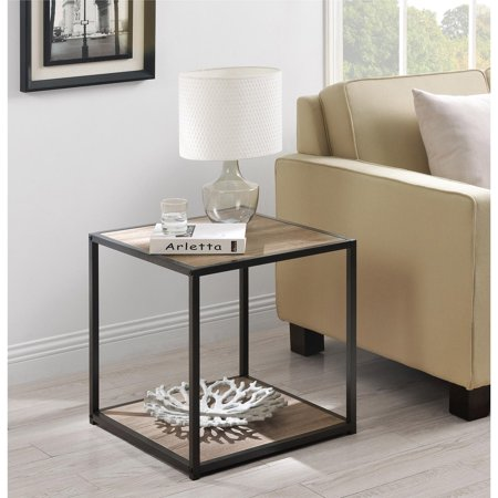 Ameriwood home canton accent table with metal frame for 12 wide side table