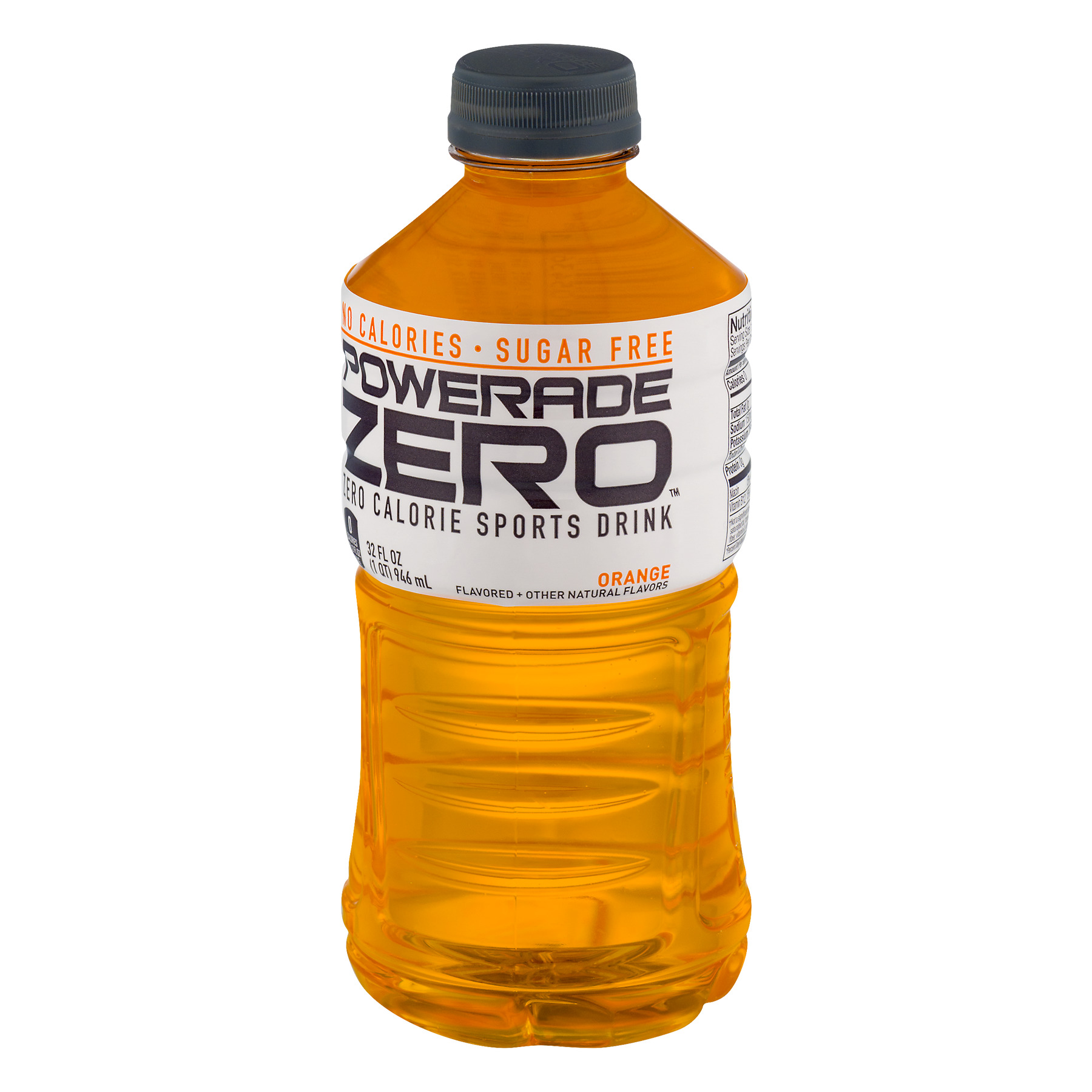 Powerade Zero Calorie Sports Drink Orange, 32.0 FL OZ - Walmart.com