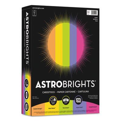 "Astrobrights Color Cardstock -""Happy"" Assortment"