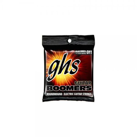 Boomers Heavy Electric Guitar Strings (GHS Heavyweight Boomers Custom Lo-Tune Electric Guitar Strings)