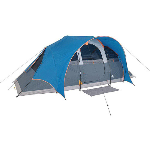 Ozark Trail 8-Person Dome Tent with Extended Porch RainFly ...