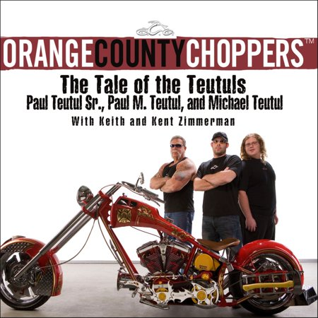 Orange County Choppers - Audiobook Case Orange County Choppers