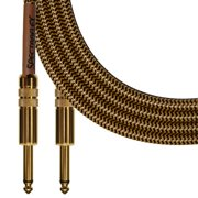 Spectraflex Vintage Series Instrument Cable, 6 Foot, Tweed