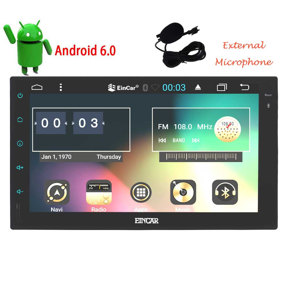 Eincar 7 inch Android 6.0 Marshmallow Car Stereo 2 Din in...