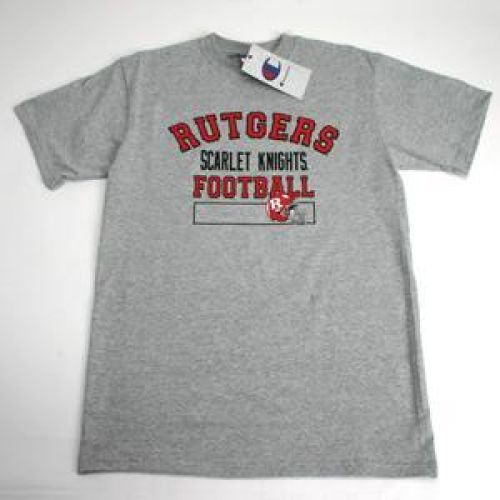 Rutgers Scarlet Knights Football T-shirt - Oxford