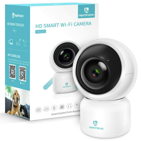 HeimVision HM203 1080P Indoor Security Camera Wireless Smart Home Surveillance IP Camera with Motion Detection/Alerts, 2-Way Audio, Night Vision for Baby/Elder/Pet/Nanny Monitor