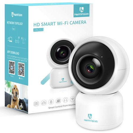 HeimVision HM203 1080P Indoor Security Camera Smart Home Surveillance IP Camera with Motion Detection/Alerts, 2-Way Audio, Night Vision for Baby/Elder/Pet/Nanny Monitor Security Surveillance Box Camera