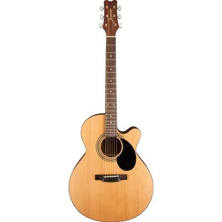 Jasmine S34C Grand Auditorium Acoustic Guitar Satin Natural Finish