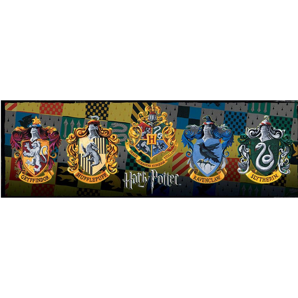 Harry Potter Crests 1000 Piece Slim Puzzle