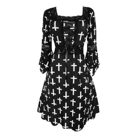 9a5ebc95403 Dare Fashion - Dare To Wear Victorian Gothic Boho Women s Plus Size Renaissance  Corset Dress S - 5x - Walmart.com